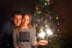 Neues Jahr der Paare Stockfotos