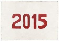 Neues Jahr 2015 der Ziege Stockbild