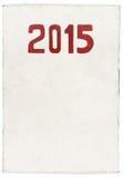 Neues Jahr 2015 der Ziege Stockfotografie