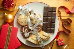 Neues Jahr-Diät lizenzfreie stockfotografie