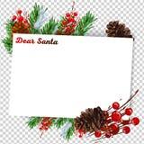 Neues Jahr-Entschließung und Ziele übergeben geschrieben auf Lockenpapier Getrennt auf Weiß Stockfotografie