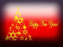 Neues Jahr-Hintergrund Lizenzfreie Stockbilder