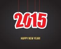 neues Jahr 2015 Hintergrund Stockfotos