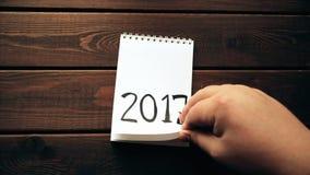 Neues Jahr 2018 ist kommendes Konzept stock video
