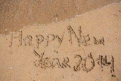 Neues Jahr 2014 ist kommendes Konzept Stockfotografie