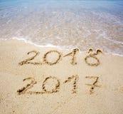 Neues Jahr 2017 ist kommendes Konzept Lizenzfreie Stockbilder