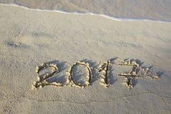 Neues Jahr 2017 ist kommendes Konzept Stockfoto