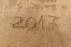 Neues Jahr 2017 ist kommendes Konzept Lizenzfreie Stockfotos
