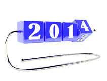 Neues Jahr ist nahe Lizenzfreies Stockbild