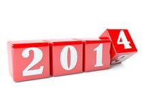 Neues Jahr ist nahe Stockbild