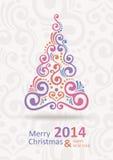 Neues Jahr-Karte Stockfotos