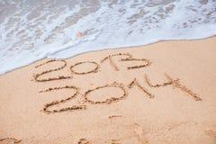 Neues Jahr 2014 kommt Lizenzfreies Stockbild