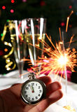 Neues Jahr kommt Stockbild