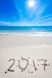 Neues Jahr 2017 kommt Stockbilder