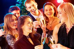 Neues Jahr - Party Lizenzfreie Stockfotografie