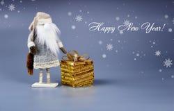 Neues Jahr `s Aufbau lizenzfreie stockfotografie
