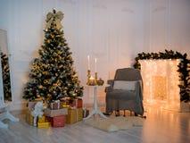 Neues Jahr ` s häuslicher Komfort Lizenzfreie Stockfotos
