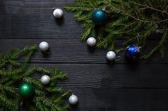 Neues Jahr `s Hintergrund Stockfotografie