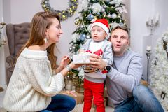 Neues Jahr ` s und Weihnachten lizenzfreie stockfotos