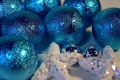 Neues Jahr ` s und Weihnachtsdekoration Stockfotografie