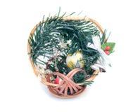 Neues Jahr \ 's und Weihnachtsdekoration Stockbild