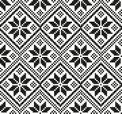 Neues Jahr ` s Weihnachtsmusterpixel für Druck Stockfotografie