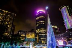Neues Jahr-Stadt Stockbild