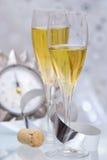 Neues Jahr-Toast Lizenzfreies Stockfoto