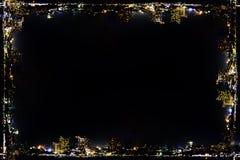 Neues Jahr 2015 und Feuerwerkshintergrund Stockfoto