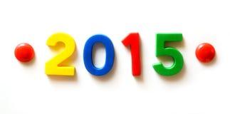 Neues Jahr und Weihnachten 2015 Lizenzfreie Stockfotografie