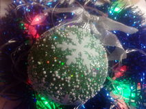Neues Jahr und Weihnachten Stockfotos