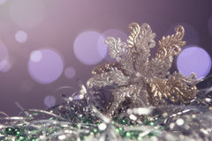 Neues Jahr- und Weihnachtsgrußkartensaisonalzusammensetzung mit t Lizenzfreie Stockbilder