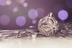 Neues Jahr- und Weihnachtsgrußkartensaisonalzusammensetzung mit t Stockfoto