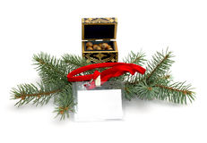 neues Jahr, Verkaufsaufkleber, Betriebsferien Lizenzfreie Stockbilder