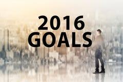 Neues Jahr von 2016 Stockfoto