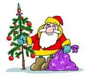 Neues Jahr, Weihnachten Stock Abbildung