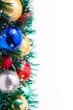 Neues Jahr Weihnachtsdekorationen Stockfoto