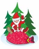 Neues Jahr, Weihnachtsmann, Feiertag Lizenzfreies Stockbild