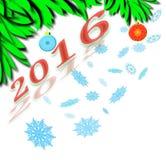 Neues Jahr Wellcome Lizenzfreies Stockfoto