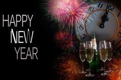 Neues Jahr-Zusammensetzung 3 Stockfotos