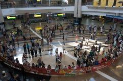 Neues Kapstadt-Flughafen-Aufsteigen stockfotos