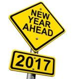 Neues kommendes Jahr 2017 Stockfoto