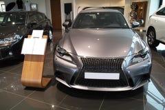 Neues Lexus IST 2013 Stockfoto