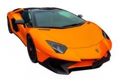 Neues Luxuxauto lizenzfreies stockfoto