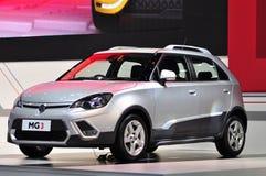 Neues MG3 Xross an Bangkok-Internationaler Automobilausstellung Lizenzfreies Stockfoto