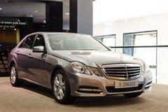 Neues Modell Mercedes-Benz E 200 cgi Stockfoto