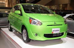 Neues Modell Mitsubishis Stockfotografie