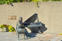 Neues Monument, das kanadischen Jazz ehrt stockfotos