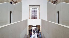 Neues Museum, Berlin - entrance Stock Images