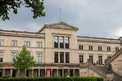 Neues Museum Berlin Germany Stock Photo